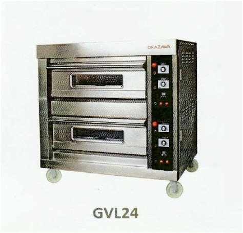 Oven Okazawa okazawa 2deck 4tray commercial gas baking oven my power