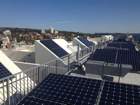 solar panels on solar power for apartment buildings strata management
