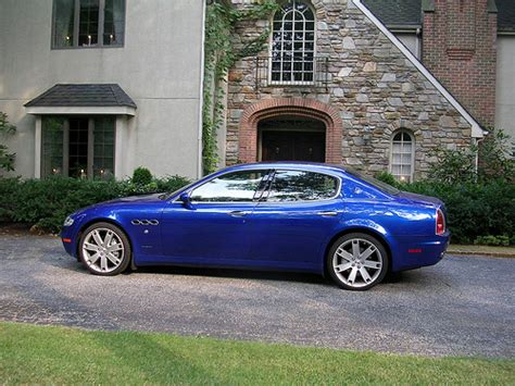 Maserati Of Baltimore by A Lovely Blue Quattroporte From Maserati Of Baltimore