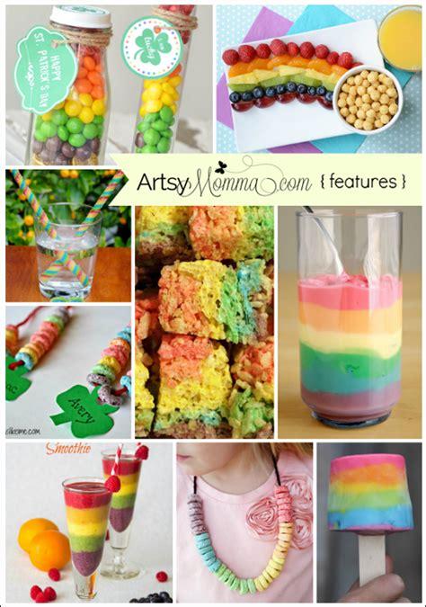 snacks idea creative rainbow snack ideas