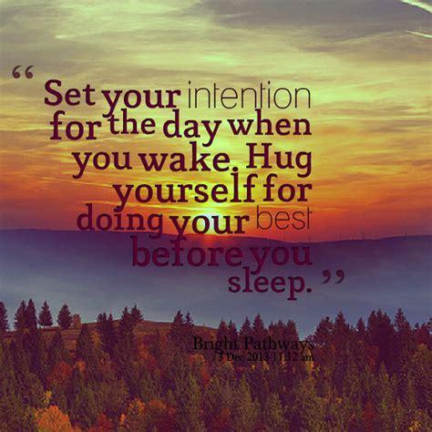 set  intention quotes quotesgram