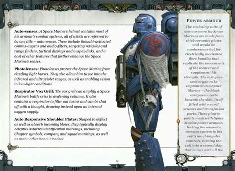 helm design syndicate space marine power armour 40k space marine physiology