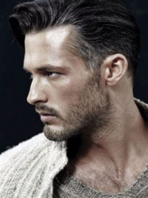 men with long salt and pepper hair young man with salt and pepper hair dress pinterest