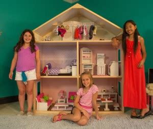 kidkraft 18 inch doll house my girl s dollhouse allows girls to build their own dollhouse for 18 inch dolls