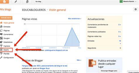 tutorial editar blogger tutorial de blogger educablogueros editar la cabecera