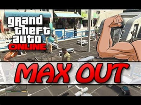 gta online how to max out your strength skill to 100% l