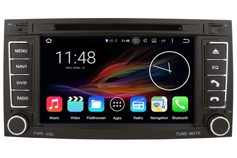 volkswagen touareg android os gps navigation head unit