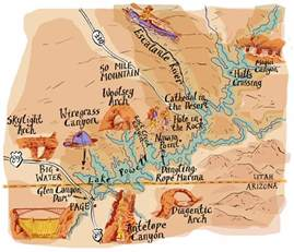 maps illustrated illustrated maps