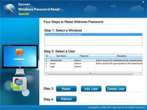 reset windows password on raid windows server password reset raid guide