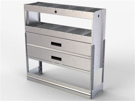 Storage Drawers For Vans by Guard 2 Drawer 2 Shelf Shelves Dividers Racking