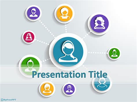 social networking free templates free leadership powerpoint templates themes ppt