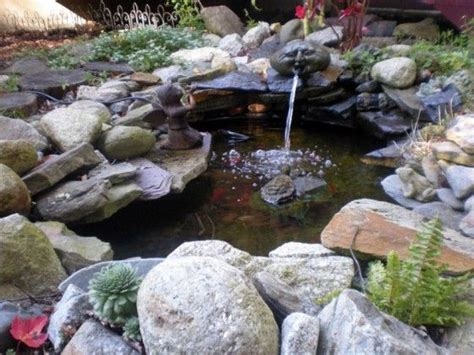 water garden rock and and backyards on pinterest