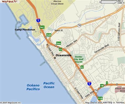 oceanside california us map image gallery oceanside california map
