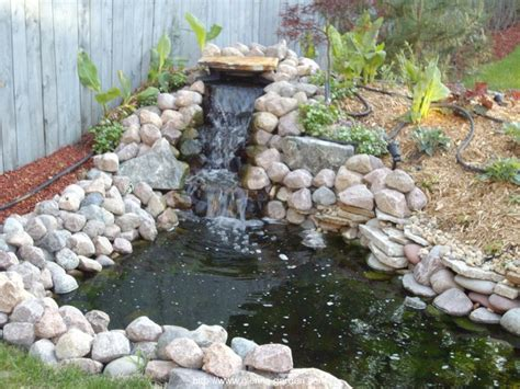 Backyard Pond Ideas With Waterfall Pond Ideas