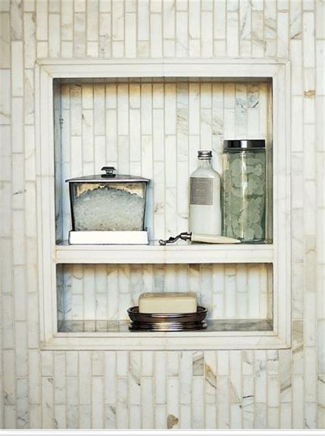 Shower Shelves Built In by Built In Shelf In Shower Bathroom