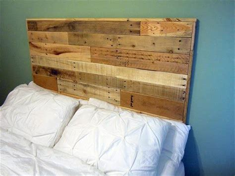 queen size pallet bed plans diy queen size pallet headboard 101 pallets