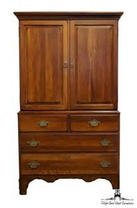 Garment Armoire Furniture Ducks Unlimited Currituck Cherry 40