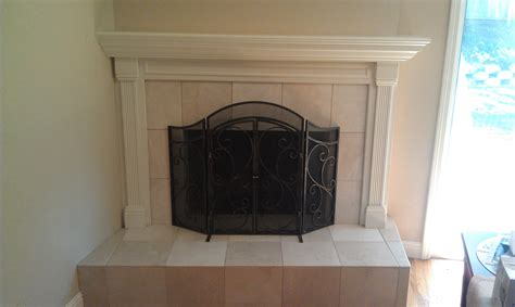 fireplace remodel build with enns
