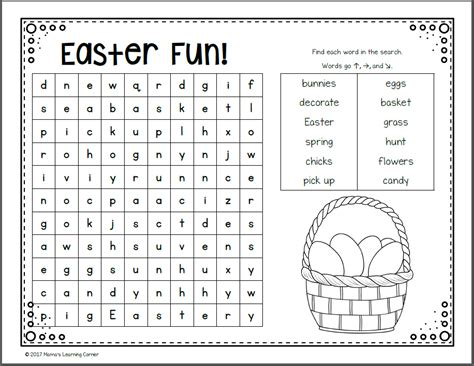 Find Uk For Free March Word Search Packet Mamas Learning Corner
