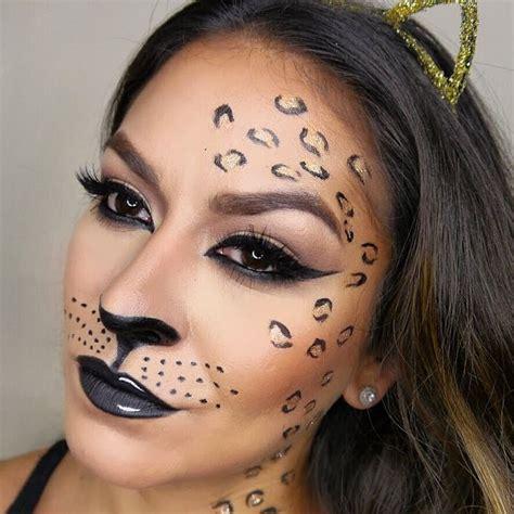 leopard makeup tutorial imagen relacionada halloween pinterest leopard