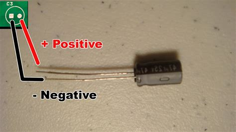capacitor side capacitor negative side 28 images pcb how to find polarity of terminals of a circuit using
