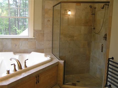 corner bathtub with shower impressive kohler devonshire in bathroom modern with