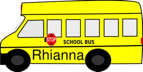 printable bus tags for students name tags clip art at clker com vector clip art online