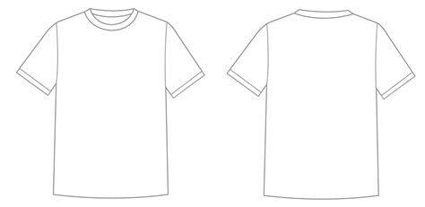 outline templates what is t shirt template