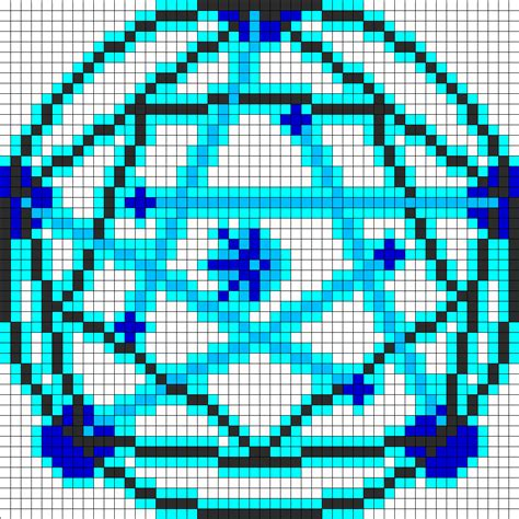 circle perler bead patterns human transmutation circle fma perler bead pattern bead