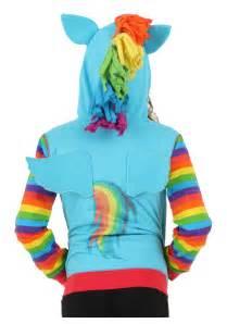 girls rainbow dash hoodie