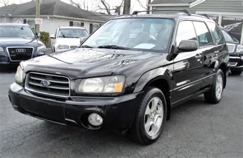 2004 Subaru Forester 2 5 Xs by Subaru Forester 2 5 Xs For Sale Used Cars On Buysellsearch