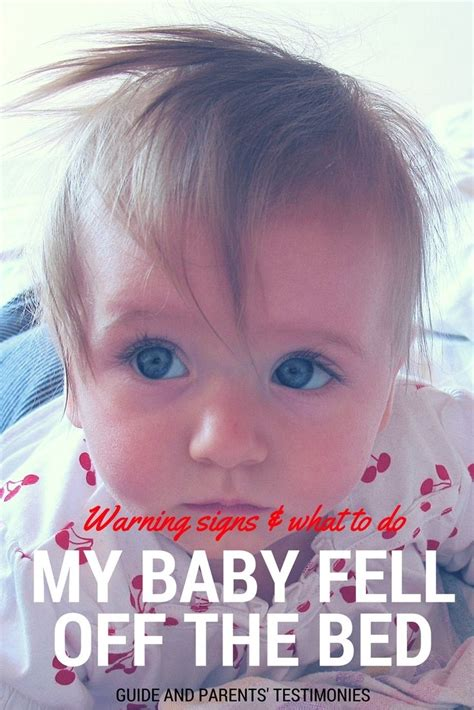 baby fell off bed signs of concussion best 25 concussion in toddler ideas on pinterest