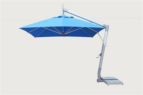 Side Patio Umbrella by Hurricane Aluminum Side Pole Bambrella Usa Sales Office