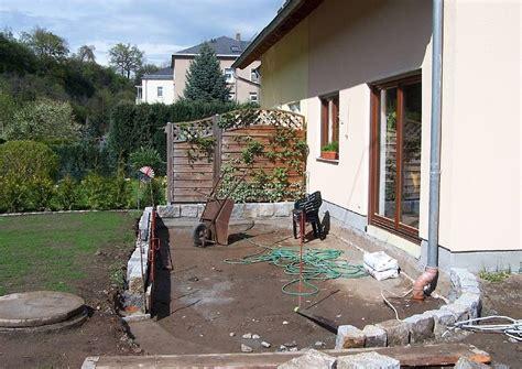 terrasse selber bauen unterbau terrassen nicht zu klein