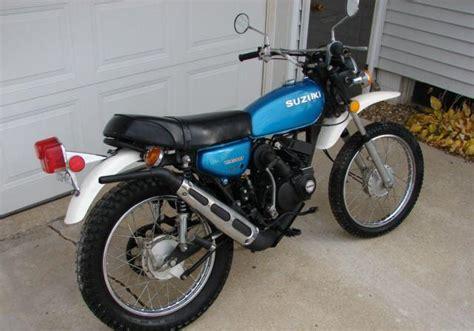 Suzuki Ts 100 1981 Suzuki Ts100 Pictures To Pin On Pinsdaddy