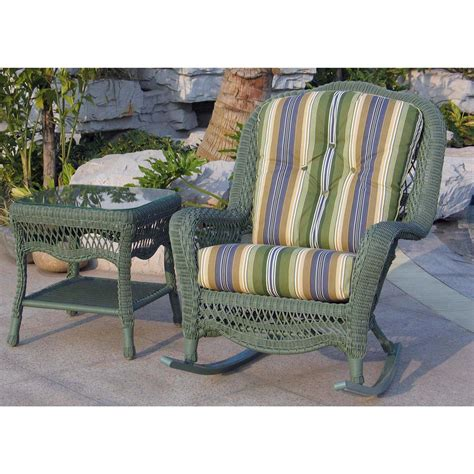 Chicago Wicker 174 Seaview 4 Pc Wicker Patio Furniture Chicago Wicker Patio Furniture