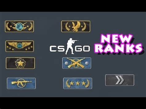 cs:go new ranks update! first look and reaction youtube