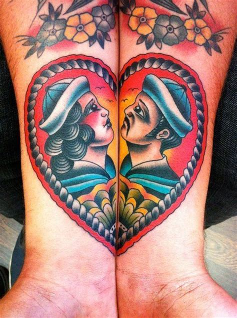 sailor couple tattoo 25 best ideas about traditional nautical on