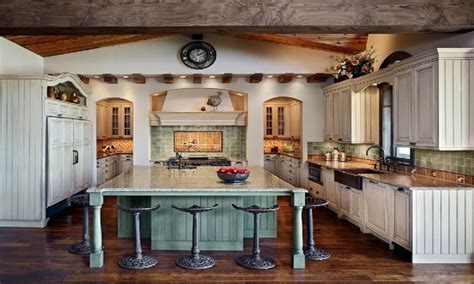 Modern French Farm House Style Farmhouse Kitchen Interior Interior Design Ideas For Kitchen Color Schemes