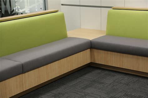 acquaint banquette seating inbuilt hinged storage