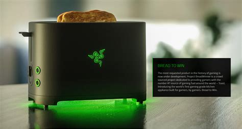 introducing the razer toaster off topic linus tech tips