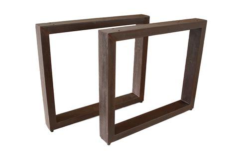 Tischbeine Lackieren by Tischbeine Tischgestell Aus Stahl Rost Tb101 Der