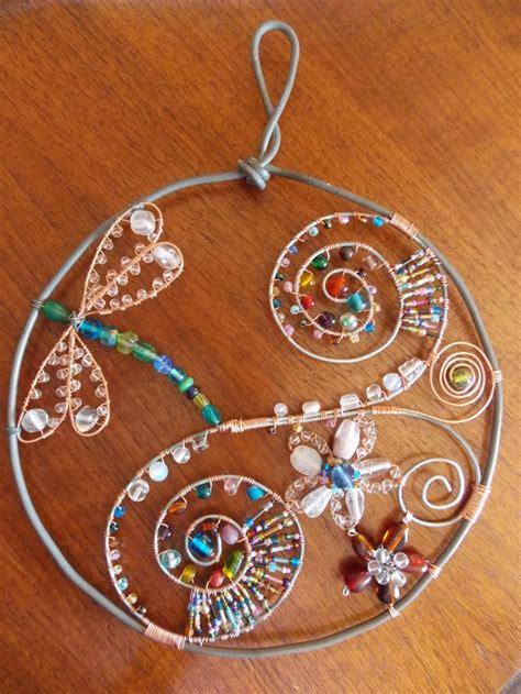 glass bead suncatchers crafts 1105 best garden windchimes suncatchers images on