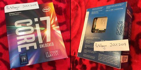 Intel I7 7700k Box 4 2ghz Kabylake sold intel i7 7700k kabylake processor new