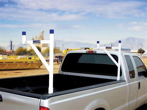 white removable ladder racks