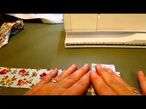 How To Join Quilt Binding by Joining Strips Tutorial Bias Quilt Binding