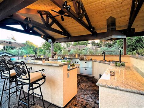outdoor kitchen designs plans 25 outdoor kitchen designs that will light up your grill