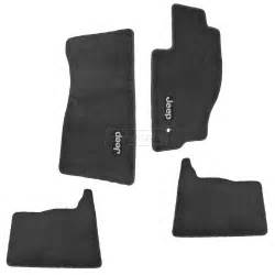 Floor Mats Jeep Grand Mopar Floor Mat Kit Slate Gray Carpet Set Of 4 For Jeep