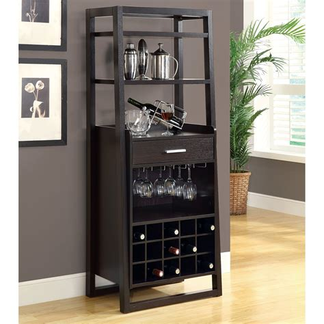 monarch specialties i 25 ladder style bar cabinet atg stores