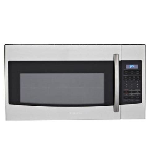 samsung 1 8 cu ft the range microwave in stainless